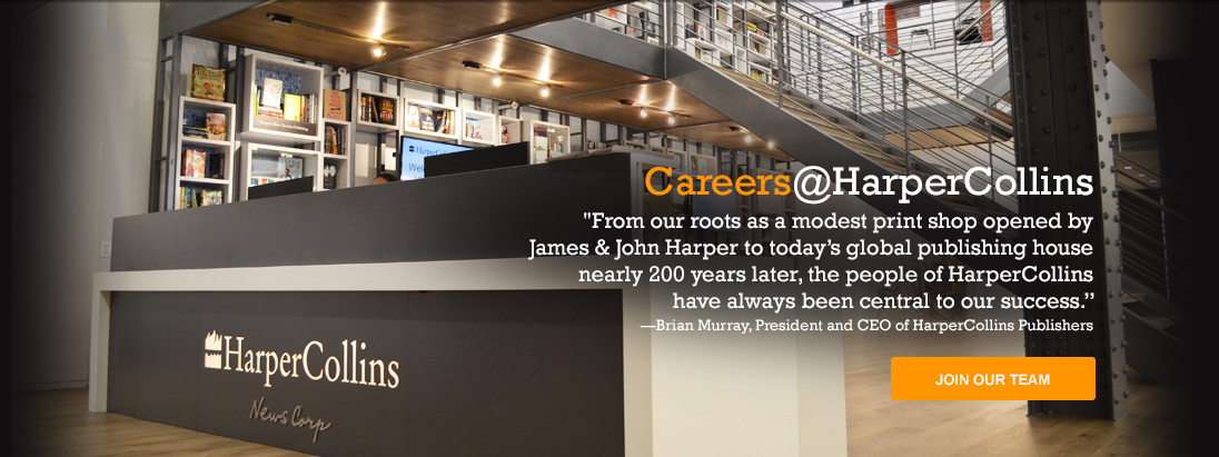 careers at harpercollins
