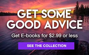 Harper Collins Homepage Advert