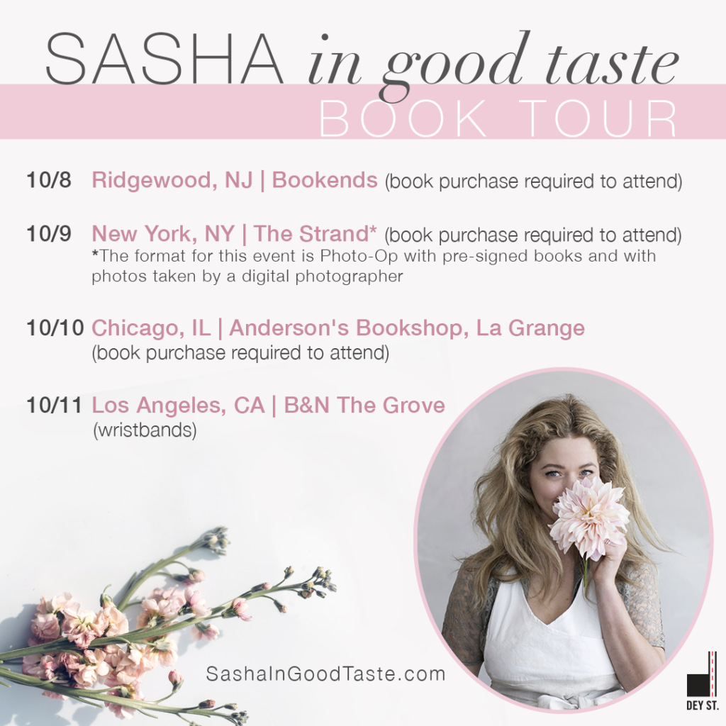 Sasha Tour Card
