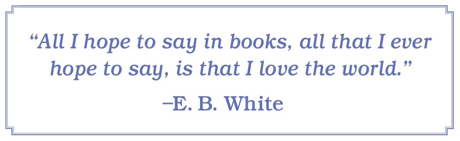 Quote by E. B. White
