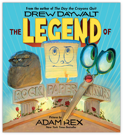 Book cover for The Legend of Rock Paper Scissors