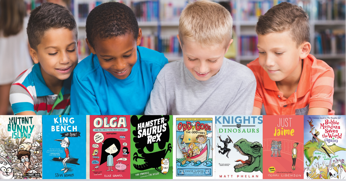 funny books for reluctant readers