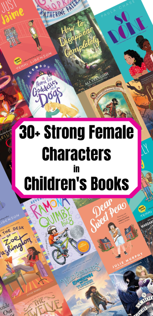 30+ strong female characters in children's books