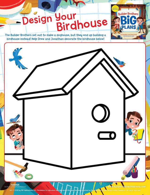 Design Your Birdhouse