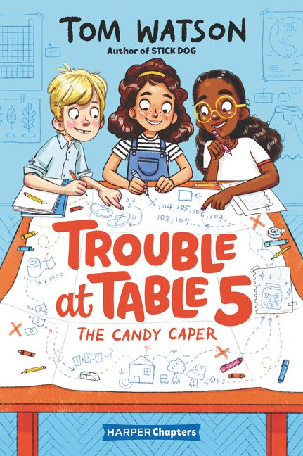 trouble at table five: the candy caper