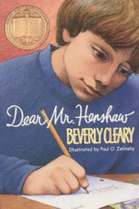 Dear Mr. Henshaw by Beverly Cleary  illustrated by Paul O. Zelinsky