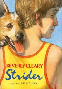 Strider by Beverly Cleary illustrated by Paul O. Zelinsky