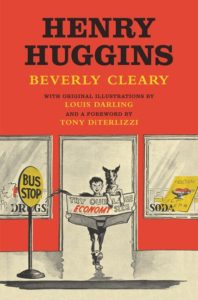 Henry Huggins by Beverly Cleary illustrated by Louis Darling