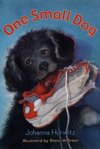 One Small Dog by Johanna Hurwitz illustrated by Diane deGroat
