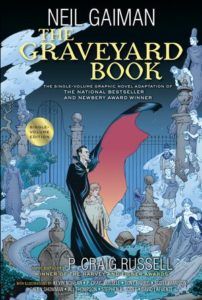 The Graveyard Book Graphic Novel Single Volume by Neil Gaiman, illustrated by P. Craig Russell