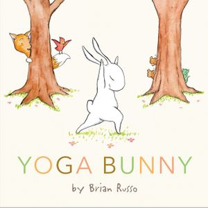 Yoga Bunny by Brian Russo