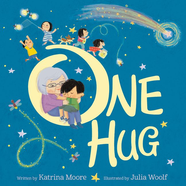One Hug by Katrina Moore illustrated by Julia Woolf