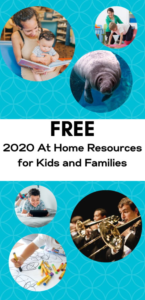 FREE At Home Resources for Kids and Families During Coronavirus 2020