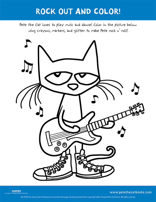 Cat With Food Coloring Page - Easy Cool Coloring Pages, HD Png ... | 673x520