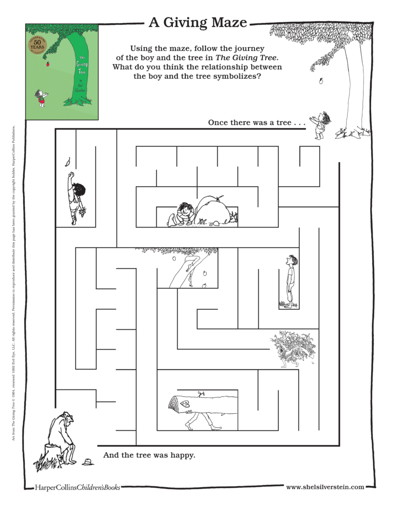 The Giving Tree Maze