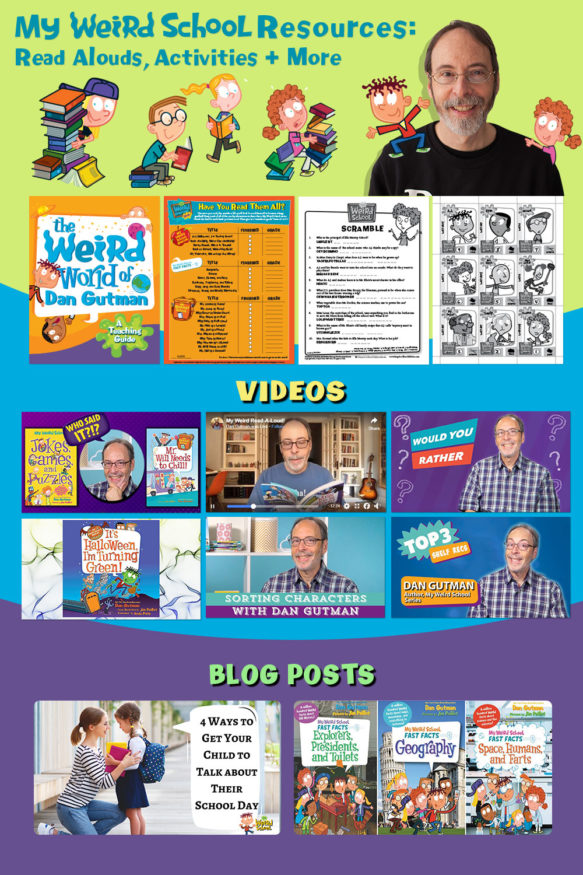 My Weird School At-Home Resources: Read Alouds, Activities, and More!
